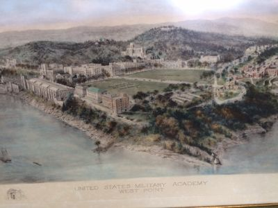 WEST POINT (1909) Water Color