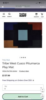 Tribe west baby blanket