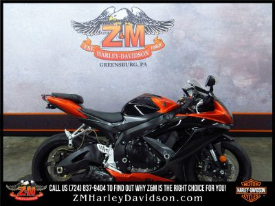 2008 Suzuki GSX-R750 SuperSport Motorcycles Greensburg, PA
