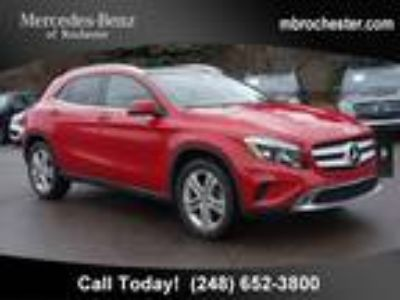 2015 Mercedes-Benz GLA GLA 250 4MATIC