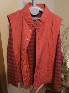 North Crest size 3x 24/26 shirt and vest