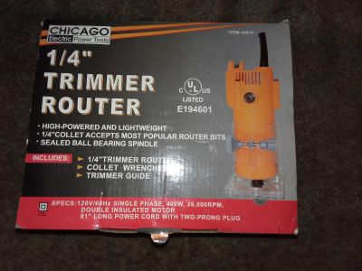 Brand New Trimmer Router
