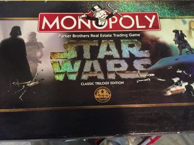 1997 Star Wars Monopoly Game
