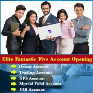 Demat and Trading Account without  AMC for lifetime