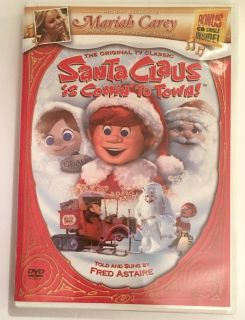 The Original TV Christmas Classic Santa Claus is coming to Town! DVD Great Condition!