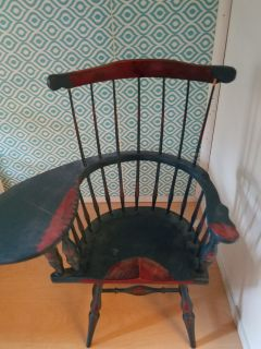 18in doll chair with a desk