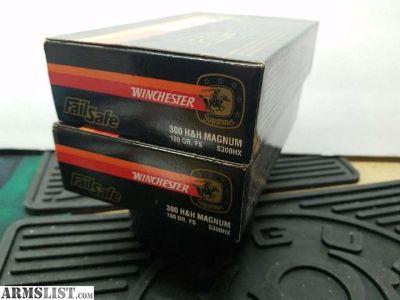 For Sale: Winchester 300 H&H Magnum ammunition