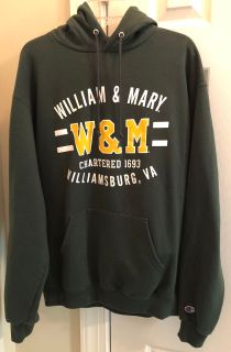 William and Mary Hoodie Men s L