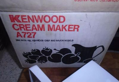 KENWOOD Chef Major A727 Cream Maker Attachment (for use with Model A701 series Mixers)