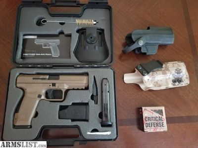 For Sale/Trade: Canik Tp9sf with gearcraft kydex IWB holster