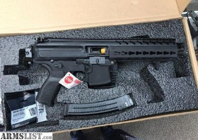 "For Sale: SIG -MPX-9-PSB- 8""BRL-GEN 2-FLDG BRACE 1-30r mag"