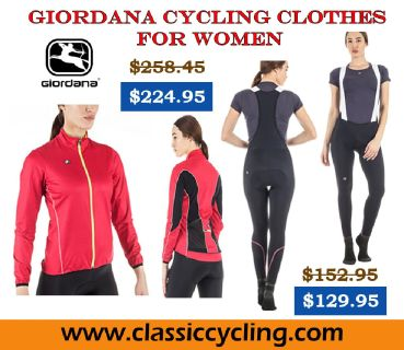 Huge Discount on Giordana Women's Fusion Bib Tight