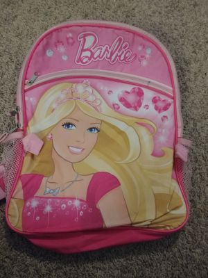 Barbie bag / used for 1st grade