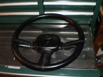 RARE Chevrolet 3 Spoke Steering Wheel Lumina Euro Camaro Nova Chevy Truck C10 GM