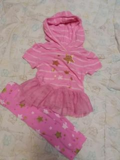 Size 6 Months Baby Girl Outfit