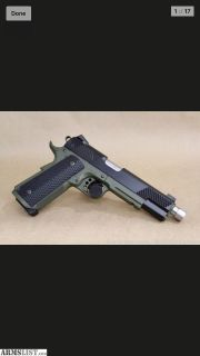 For Sale: Christensen Government Tactical 45 ACP