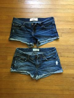 Hollister and aero jeans size 5/6