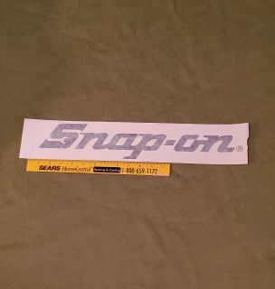 Vintage Snap-on Tools Decal Application Tape, Size Medium. Available in Black, Red, White & Neon Yellow