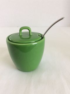 Starbucks sugar bowl & spoon