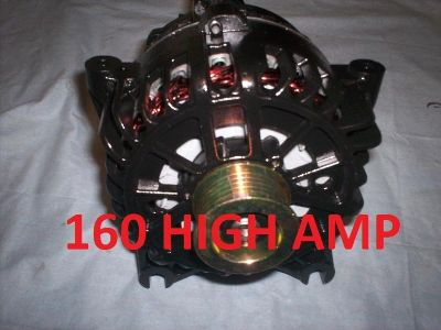Find FORD MUSTANG GT BLACK ALTERNATOR 99 00 02 03 160 HIGH AMP 4.6L SOHC Generator motorcycle in Porter Ranch, California, US, for US $135.09