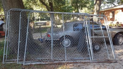 Dog kennel or chicken coop cage..cross posted