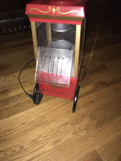 Small old fashioned air popcorn popper
