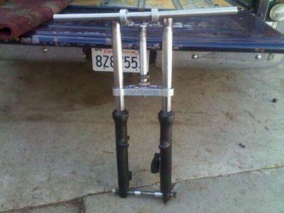 Sell kz shorten frontend/dragbike/kz1000/kz900/kawasaki/zr1 motorcycle in Pittsburg, California, US, for US $385.00