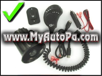 Sell Coga PA/P.A. Mic System Truck/Car/RV/motorcycle Musical Music Horn motorcycle in Atascadero, California, US, for US $69.95