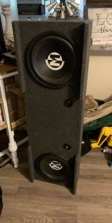 Subs n amp 1500 watts of Chevy Silverado