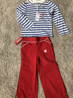 NWT Gymboree girl size 5 outfit