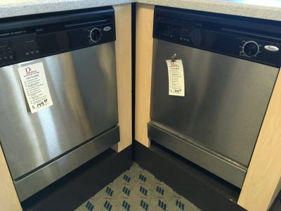 Whirlpool Stainless Dishwasher - USED