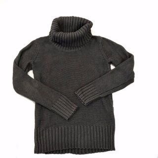 Old Navy Women s S Sweater Charcoal Gray Turtleneck