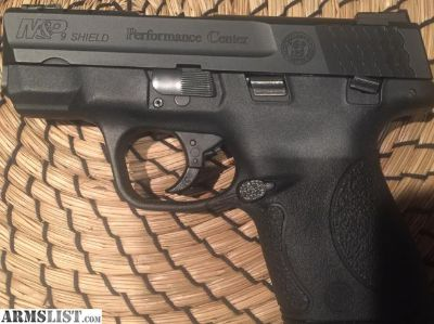 For Sale: S&W Performance M&P Shield 9mm