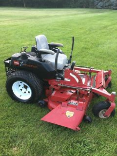 "COMMERCIAL TORO Z MASTER ONLY 500 HOURS 23HP. MOTOR 52"" DECK RESIDENTIAL USE ONLY"