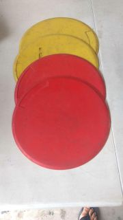 4 rubber circle bases