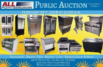 Restaurant Auction