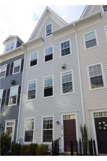 Almost new townhome in the heart of Towson. 2 Car Garage!
