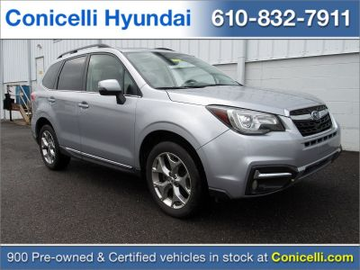 2017 Subaru Forester 2.5i Touring (Ice Silver Metallic)