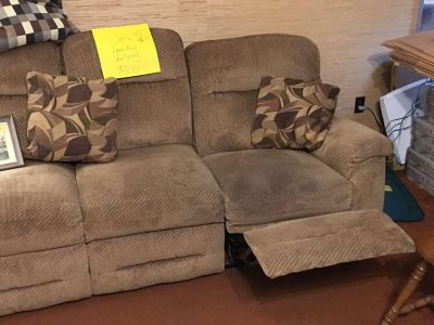 Couch and 2 recliners.