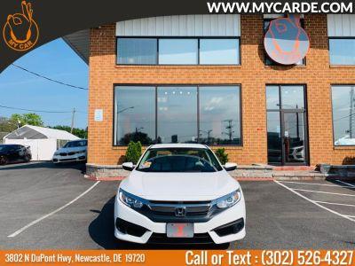2016 Honda CIVIC SEDAN 4dr CVT LX w/Honda Sensing (Taffeta White)