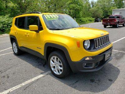 2016 Jeep Renegade (Solar Yellow)