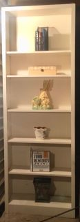 2 identical bookshelves $18 each 89 high