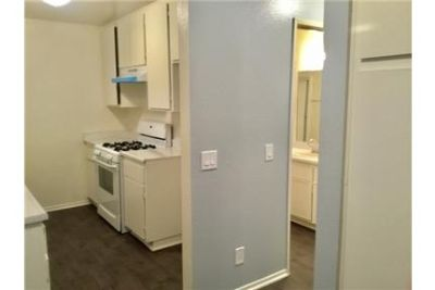 Large units with fresh paint and full kitchen with stove.