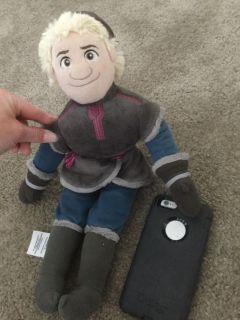 Disney Frozen Kristoff Large plush doll, not the small 11 inch doll, the larger size one, $2.00.