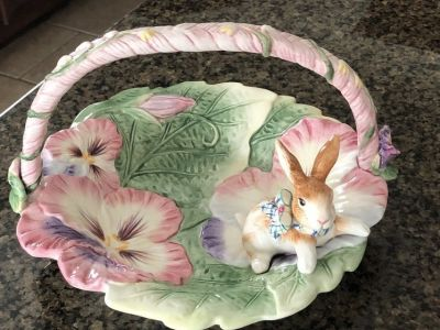 Fitz and Floyd Easter Serving Dish