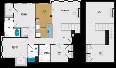 2 bedroom in Abingdon
