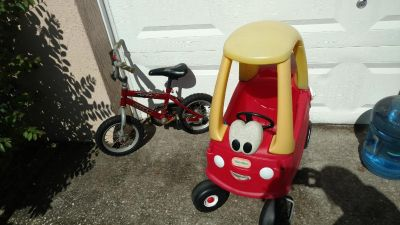 Kids bike /ride on toy $5 ea or $10 for both