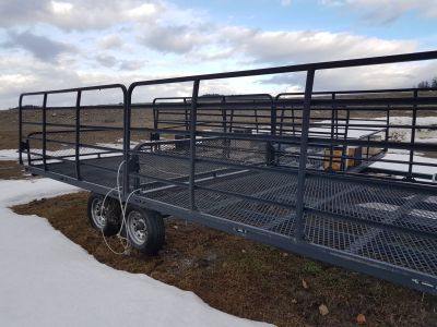 2015 CARNAI 4 PLACE ATV TRAILER Sport-Utility Sport Utility Trailers Sandpoint, ID