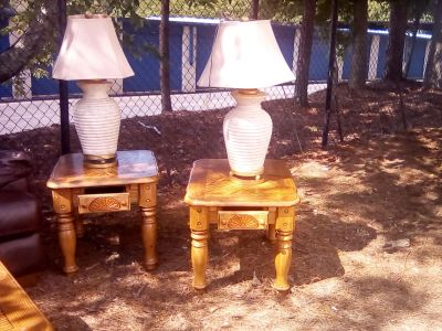 Tables/lamps