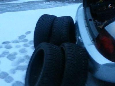 $150 OBO 4 Winter tires 215-45-17 size